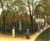 Luxemburg Gardens, Monument to Chopin. Rousseau.