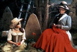 Rosaleen and Grandma from  'The Company of Wolves'