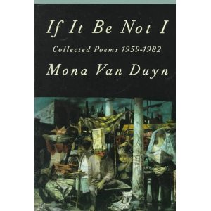 'If it be Not I' , Van Duyn