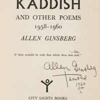 Ginsberg's Kaddish (City Lights)