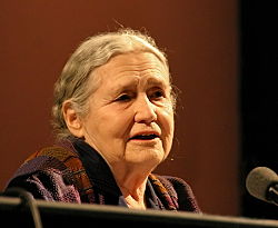 Author and Poet Doris Lessing