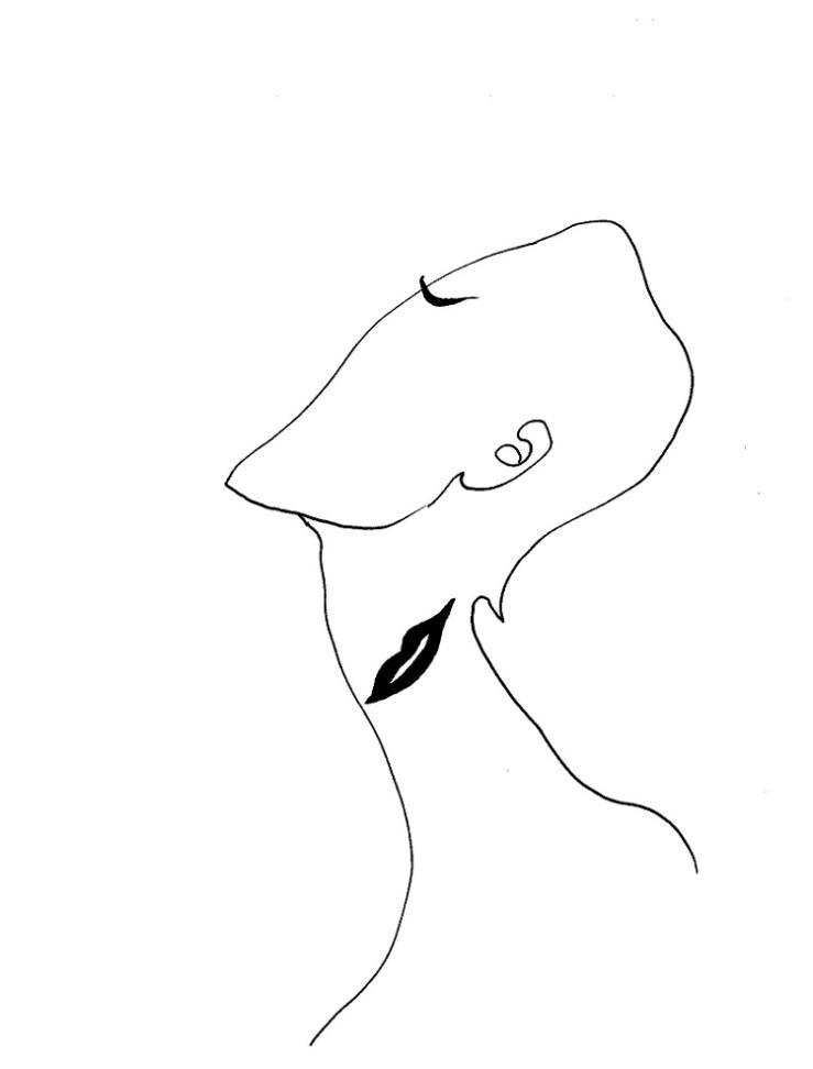 Cut Neck by Zarina Zabrisky